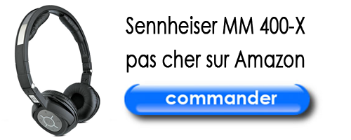 Casque Sennheiser MM 400-X